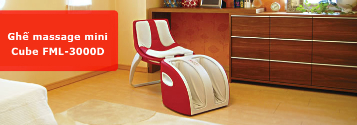 The Inada Cube - The most compact massage chair in the world